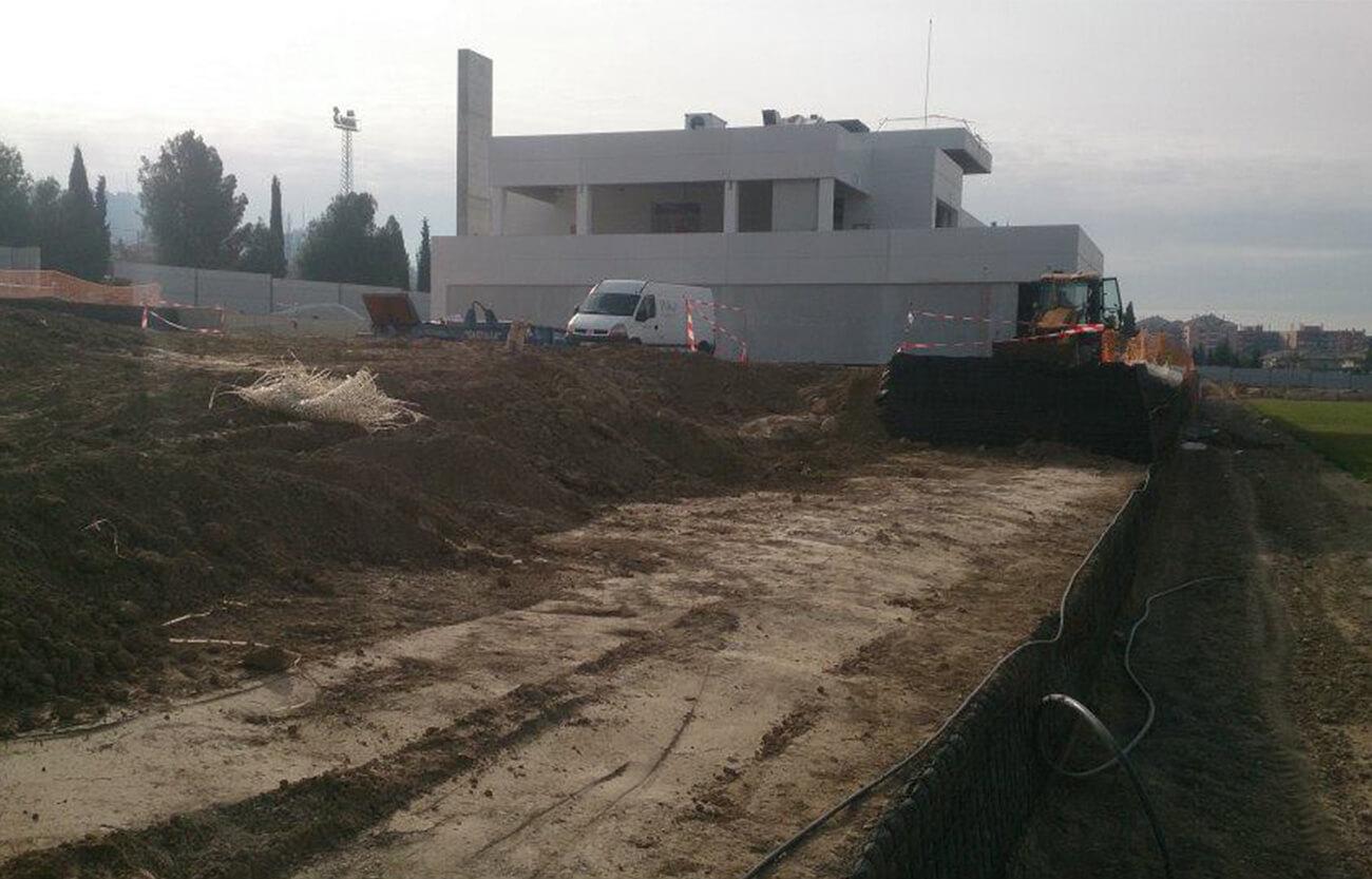 Ciudad deportiva Granada CF - Servicios de topografía en Granada