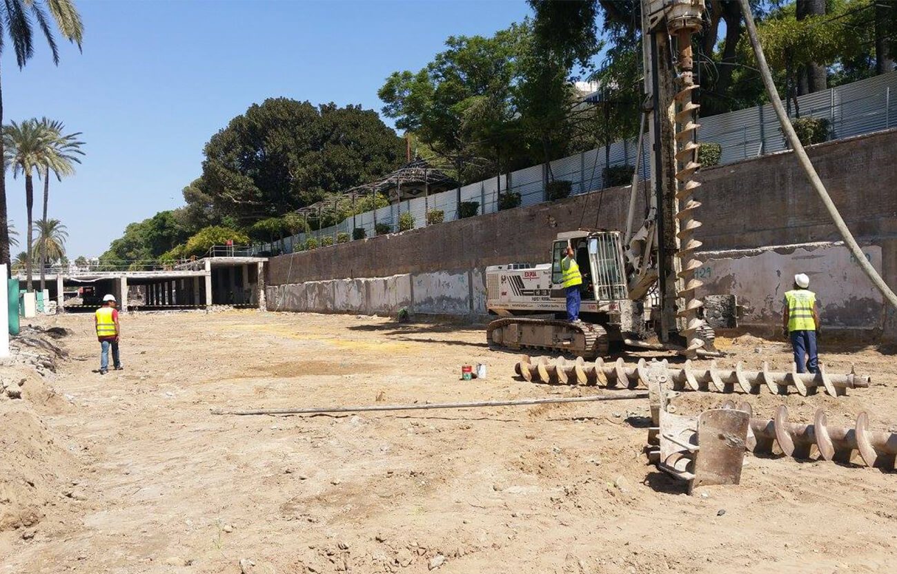 Proyecto de obra en Marqués de Contadero - Servicios topografía en Sevilla