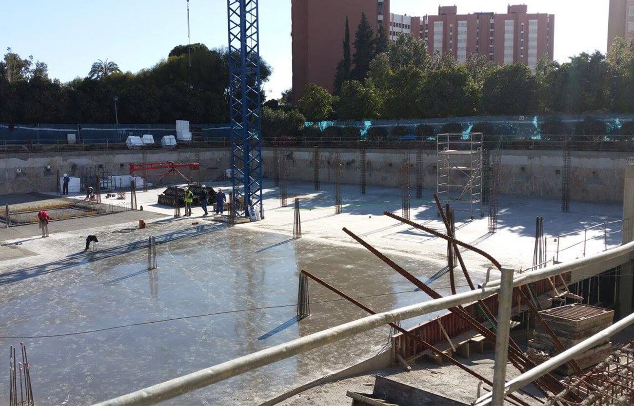 Proyecto Centro Deportivo - Servicios topografía con scanner