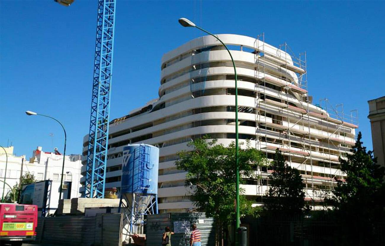 Proyecto Clinica Quiron - Servicios topografía Sevilla