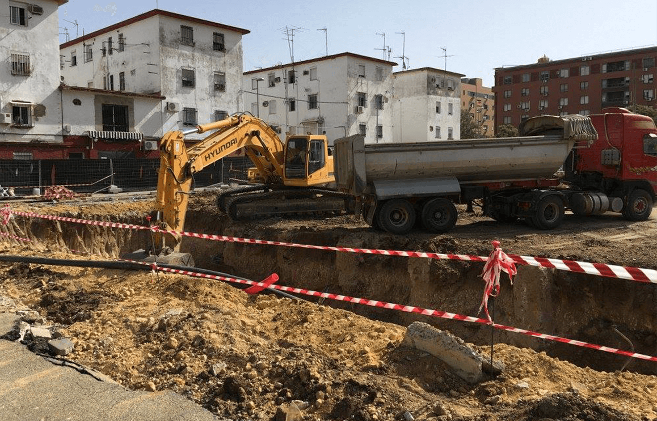 Proyecto en los Pajaritos - Servicios topografía Sevilla