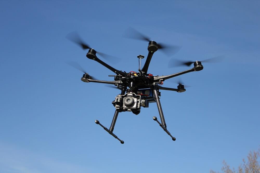 Empresa de topografía con servicio de drones