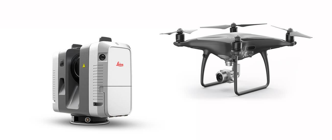Servicio topografía con drones y scanners 3d