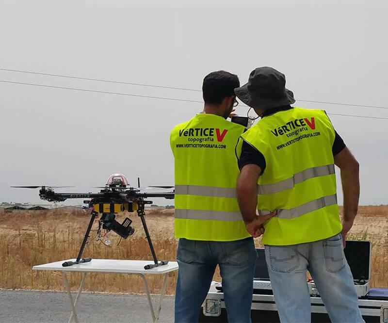 Servicio de topografía con drones