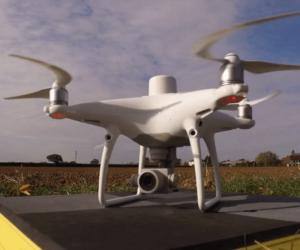topografía drones
