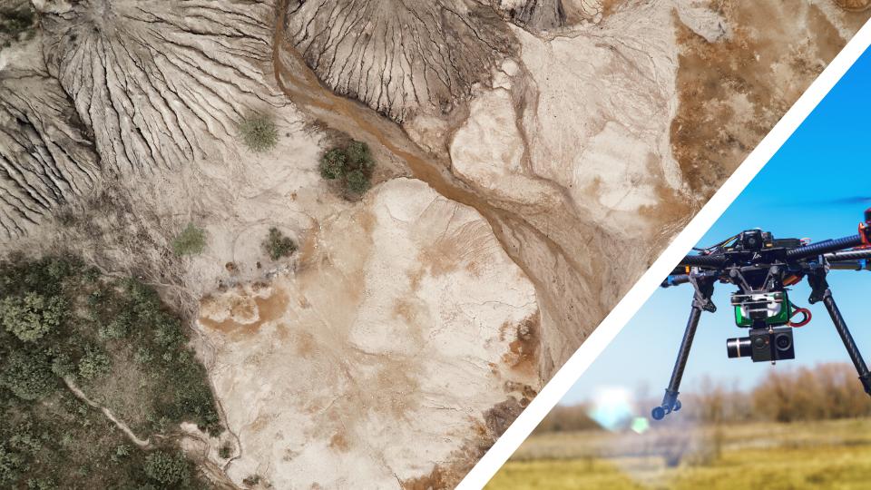 Topografía con drones Sevilla